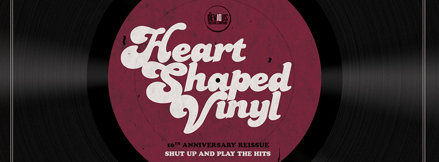 Heart Shaped Vinyl Tickets On Sale